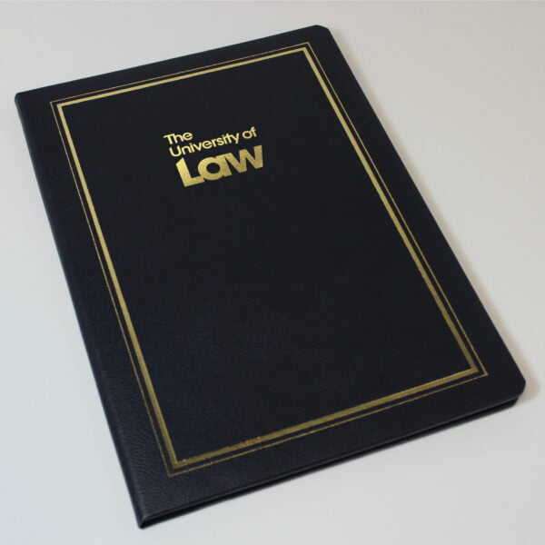 18983 The University of Law Diploma Cover