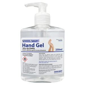 250ml hand sanitiser gel