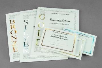 Handwritten Certificates