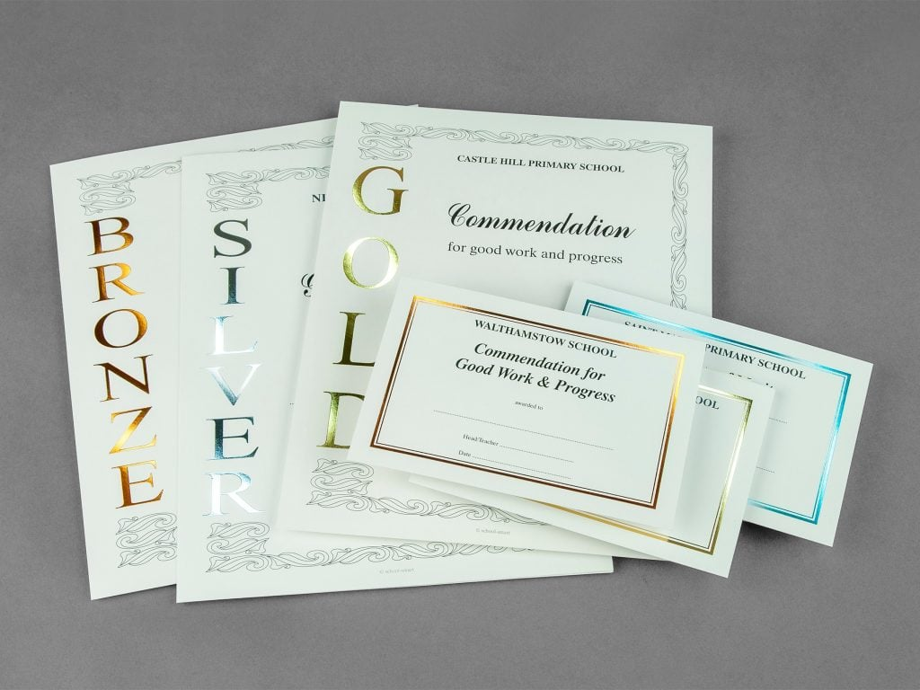Handwritten Certificates