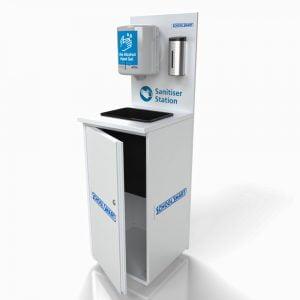 HEavy duty hand sanitisation station