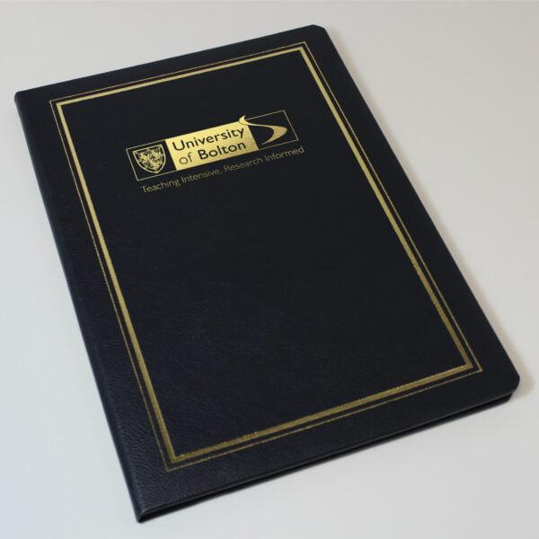University of Bolton Certificate Holder