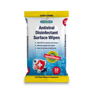 antiviral disinfectant surface wipes