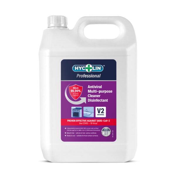 anti-viral multi-purpose cleaner disinfectant