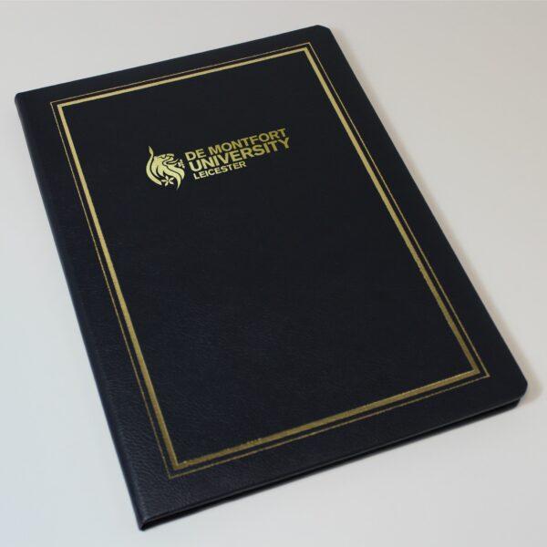 de montfort university certificate holder