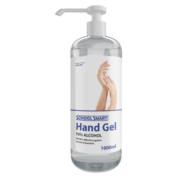 one litre hand sanitiser gel
