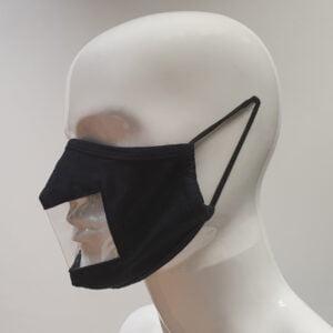 window face mask side